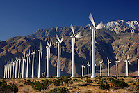 Windmills near Palm Springs, California.