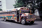 Diablos Rojos buses, Panama CIty