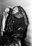 Led Zeppelin 1972 Robert Plant.© Chris Walter.