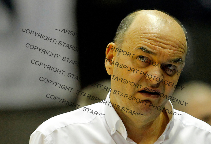 Dusko Vujosevic Aba Jadranska Regionalna liga, derbi, Partizan - Crvena Zvezda, 23. kolo Beograd, Srbija, 1.3.2015.  (credit image & photo: Pedja Milosavljevic / STARSPORT).
