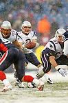 New England Patriotsbackup quarterback Doug Flutie (2) receives a snap against the Buffalo Bills at Ralph Wilson Stadium in Orchard Park, NY, on December 11, 2005 . The Patriots defeated the Bills 35-7. Mandatory Photo Credit: Ed Wolfstein