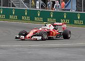 Montreal, Canada.  Kimi Raikkonen (FIN) for Scuderia Ferrari at the Formula One Canadian Grand Prix held at the circuit Gilles-Villeneuve in Montreal, Quebec. June 12 2016
