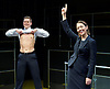 Bull <br /> by Mike Bartlett <br /> at Young Vic, London, Great Britain <br /> Press photocall <br /> 14th December 2015 <br /> <br /> <br /> Max Bennett as Tony <br /> <br /> Susannah Fielding as Isobel<br /> <br /> Nigel Lindsay as Carter <br /> <br /> Marc Wootton as Thomas <br /> <br /> Photograph by Elliott Franks <br /> Image licensed to Elliott Franks Photography Services