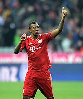FUSSBALL   1. BUNDESLIGA  SAISON 2011/2012   21. Spieltag FC Bayern Muenchen - 1. FC Kaiserslautern       11.02.2012 Jerome Boateng (FC Bayern Muenchen)