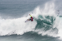 BELLS BEACH, Victoria/AUS (Wednesday, April 19, 2017) Ezekiel Lau (HAW) - Jordy Smith (ZAF) has won The Rip Curl Pro Bells Beach, the third stop of the World Surf League (WSL) Championship Tour (CT). He defeated Caio Ibelli (BRA)in the 35 minute final.   Competitors  faced challenging six-to-eight foot waves (2 - 2.5 metre) at the Bells Bowl thought the day.<br /> Caio Ibelli (BRA) had defeated John John Florence (HAW) in the first semi final while Smith had defeated tour rookie Ezekiel Lau (HAW) in the second. Florence retains the ratings lead.<br /> Location:   Bells Beach, Victoria, Australia<br /> Event window:April 12 - 24, 2017<br /> Today's call:Men's Round 4 called ON<br /> Conditions:6 - 8 foot (2 - 2.5 metre)<br /> <br /> Photo: joliphotos.com