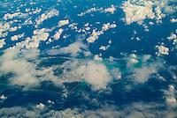 Aerial View Bahamas, Caribbean,