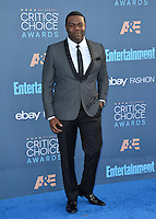 Sam Richardson at the 22nd Annual Critics' Choice Awards at Barker Hangar, Santa Monica Airport. <br /> December 11, 2016<br /> Picture: Paul Smith/Featureflash/SilverHub 0208 004 5359/ 07711 972644 Editors@silverhubmedia.com