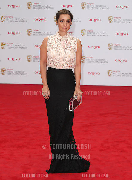 Louise Redknapp arriving for the TV BAFTA Awards 2013, Royal Festival Hall, London. 12/05/2013 Picture by: Alexandra Glen / Featureflash