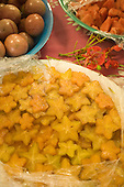 Feast, Starfruit dish, Aitu Island, Cook Islands, Polynesia