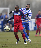 Franck Songo?o of Chicago Fire and Sandro of QPR