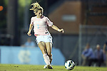 27 September 2012: UNC's Kealia Ohai. The University of North Carolina Tar Heels played the Florida State University Seminoles at Fetzer Field in Chapel Hill, North Carolina in a 2012 NCAA Division I Women's Soccer game. Florida State won the game 1-0.
