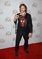 T. J. Miller at the 2017 Producers Guild Awards at The Beverly Hilton Hotel, Beverly Hills, USA 28th January  2017<br /> Picture: Paul Smith/Featureflash/SilverHub 0208 004 5359 sales@silverhubmedia.com