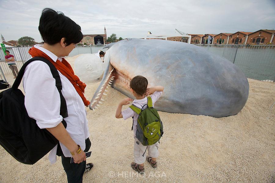 "54th Biennale of Venice..ILLUMInazioni - ILLUMInations.Arsenale..Loris Greaud, ""The Geppetto Pavilion"", 2011."