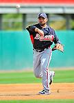 6 March 2011: Atlanta Braves' infielder Alex Gonzalez in action during a Spring Training game against the Washington Nationals at Space Coast Stadium in Viera, Florida. The Braves shut out the Nationals 5-0 in Grapefruit League action. Mandatory Credit: Ed Wolfstein Photo