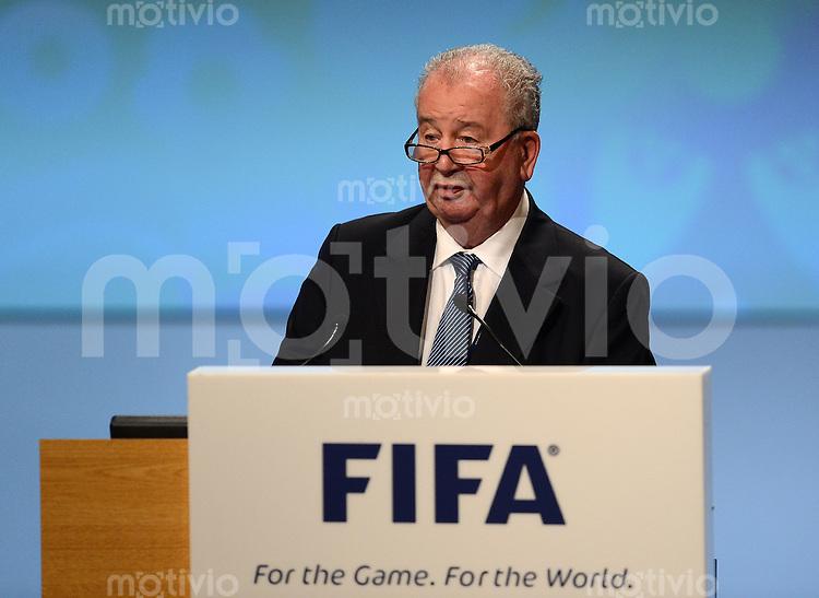 Fussball International  62. FIFA  Kongress in Budapest 2012    25.05.2012 Vizepraesident  Julio H. GRONDONA (Argentinien, FIFA-Exekutivkomitee)