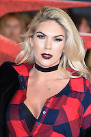 Frankie Essex at the premiere of &quot;xXx-Return of Xander Cage&quot; at the O2 Cineworld, London, UK. <br /> 10th January  2017<br /> Picture: Steve Vas/Featureflash/SilverHub 0208 004 5359 sales@silverhubmedia.com