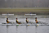 004 ChristchurchRC IM3.4x‐..Marlow Regatta Committee Thames Valley Trial Head. 1900m at Dorney Lake/Eton College Rowing Centre, Dorney, Buckinghamshire. Sunday 29 January 2012. Run over three divisions.