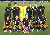 TOKYO, JAPAN - September 8, 2012: The United States women's U-20 national team defeated Germany 1-0 in the U-20 World Cup finals at National Stadium in Tokyo, Japan on September 8, 2012.