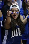04 February 2015: Duke fan. The Duke University Blue Devils hosted the Georgia Tech Yellow Jackets at Cameron Indoor Stadium in Durham, North Carolina in a 2014-16 NCAA Men's Basketball Division I game. Duke won the game 72-66.