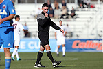14 December 2014: Referee Edvin Juresevic. The University of Virginia Cavaliers played the University of California Los Angeles Bruins at WakeMed Stadium in Cary, North Carolina in the 2014 NCAA Division I Men's College Cup championship match. Virginia won the championship by winning the penalty kick shootout 4-2 after the game ended in a 0-0 tie after overtime.