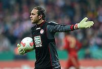 FUSSBALL  DFB POKAL       SAISON 2012/2013 FC Bayern Muenchen - 1 FC Kaiserslautern  31.10.2012 Torwart Tobias Sippel (1. FC Kaiserslautern)