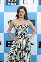 Amy Adams.2007 Film Independent's Spirit Awards.On the Beach.Santa Monica, CA.February 24, 2007.©2007 Kathy Hutchins / Hutchins Photo....