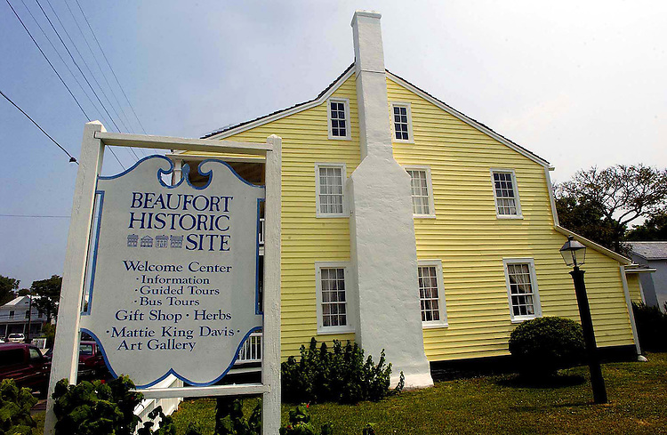 The Beaufort Historical Site, located on Turner Street, open year round, Tuesday, August 16, 2005. Beckley Ans_BeauHis