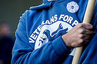 """10.11.2013 - Veterans For Peace UK: """"Never Again"""""""