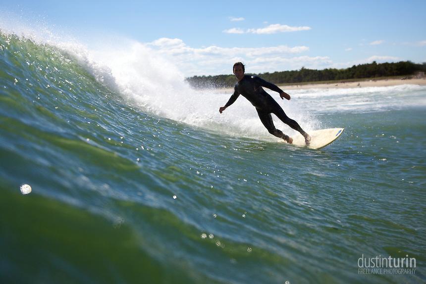 Surfer: Ron Petrone. Photo: Dustin Turin