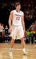 CHARLOTTESVILLE, VA- DECEMBER 6: Joe Harris #12 of the Virginia Cavaliers during the game on December 6, 2011 against the George Mason Patriots at the John Paul Jones Arena in Charlottesville, Virginia. Virginia defeated George Mason 68-48. (Photo by Andrew Shurtleff/Getty Images) *** Local Caption *** Joe Harris
