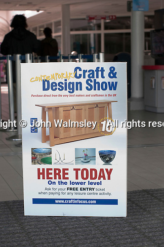Craft & Design Show (www.craftinfocus.com), Spectrum Leisure Centre, Guildford.