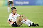 21 August 2008: Birgit Prinz (GER). Germany's Women's National Team defeated Japan's Women's National Team 2-0 at the Worker's Stadium in Beijing, China in the Bronze Medal match in the Women's Olympic Football tournament.