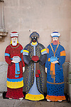 The Three Kings - Wise Men - used in the Spanish Celebration of Epiphany with Letter Boxes to Receive Letters from Chiidren