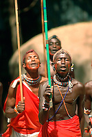 The Samburu are a pastoral, nomadic people who live in northern Kenya. Their customs, language, and traditions are very similar to the more well known and legendary Maasai of Central and Southern Kenya, and Northern Tanzania.