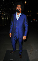 David Haye at the Nordoff Robbins Boxing Dinner, London Hilton Park Lane Hotel, Park Lane, London, England, UK, on Monday 24 October 2016. <br /> CAP/CAN<br /> &copy;CAN/Capital Pictures /MediaPunch ***NORTH AND SOUTH AMERICAS ONLY***