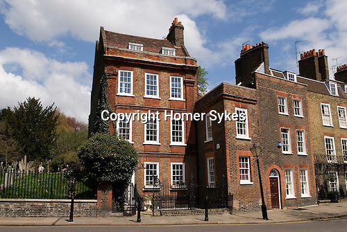 Church Row,  Hampstead village, London NW3. England