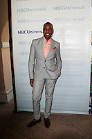 PASADENA - APR 18:  AJ Johnson arrives at the NBCUniversal Summer Press Day at The Langham Huntington Hotel on April 18, 2012 in Pasadena, CA