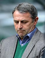 FUSSBALL   1. BUNDESLIGA   SAISON 2011/2012   34. SPIELTAG SV Werder Bremen - FC Schalke 04                       05.05.2012 Manager Klaus Allofs (SV Werder Bremen)