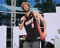 MIAMI BEACH , FL - JULY 23: Lil Dicky performs during the I Heart Radio Y-100 Mackapoolooza Pool Party at The Fountainbleu on July 23, 2016 in Miami Beach, Florida. Credit: mpi04/MediaPunch
