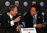 WASHINGTON, DC-JULY 10,2012:  during a D.C. United ownership press conference at the POV Lounge in the W Hotel, Washington, DC.