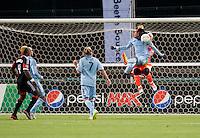 Kei Kamara, Jimmy Nielsen.  Sporting KC defeated D.C. United, 1-0, at RFK Stadium in Washington, DC.