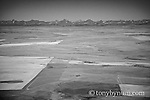 aerial image drill pad blackfeet reservation glacier park backdrop