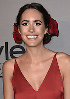 LOS ANGELES - OCTOBER 24:  Louise Roe at the 2nd Annual InStyle Awards at The Getty Center on October 24, 2016 in Los Angeles, California.Credit: mpi991/MediaPunch