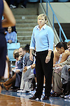 24 November 2012: UNC head coach Sylvia Hatchell. The University of North Carolina Tar Heels played the La Salle University Explorers at Carmichael Arena in Chapel Hill, North Carolina in an NCAA Division I Women's Basketball game. UNC won the game 85-55.