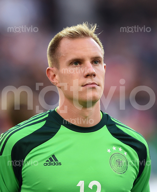 Fussball International Euro 2015 Quali Play-off-Rueckspiel U 21 in Essen 14.10.2014 Deutschland - Ukraine     Torwart Marc-Andre ter Stegen (Deutschland)