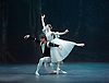 Giselle <br /> English National Ballet at The London Coliseum, London, Great Britain <br /> rehearsal <br /> 10th January 2017 <br /> <br /> Alina Cojocaru as Giselle <br /> <br /> Isaac Hernandez as Albrecht <br /> <br /> <br /> <br /> Photograph by Elliott Franks <br /> Image licensed to Elliott Franks Photography Services