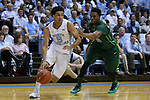 16 December 2015: North Carolina's Marcus Paige (5) and Tulane's Malik Morgan (13). The University of North Carolina Tar Heels hosted the Tulane University Green Wave at the Dean E. Smith Center in Chapel Hill, North Carolina in a 2015-16 NCAA Division I Men's Basketball game. UNC won the game 96-72.
