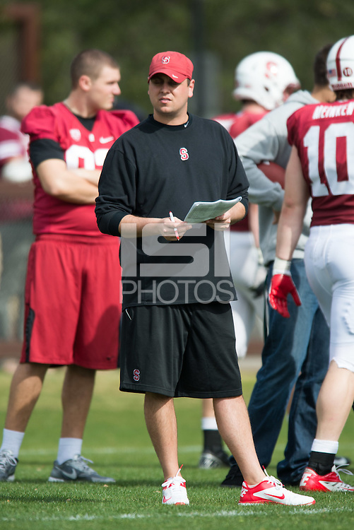 STANFORD, CA -- Stanford Football Open Practice.