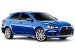 Mitsubishi Lancer Sportback Hatchback 2010 Stock Photos