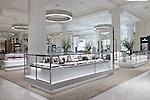 T&B (Contractors) Ltd - Cleef & Arpels concession, Wonder Room, Selfridges.  23rd February 2017